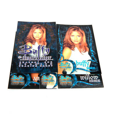 2001 Inkworks Buffy the Vampire Slayer Season One Preview Set (5) Nm/Mt