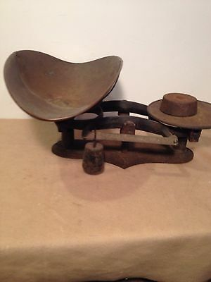 Antique fairbanks scale 7x18 Ing With X7 Ing Tall
