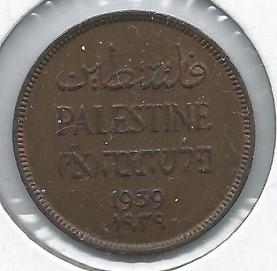 1939 Palestine***1 Mil***uncirculated Condition              Cg