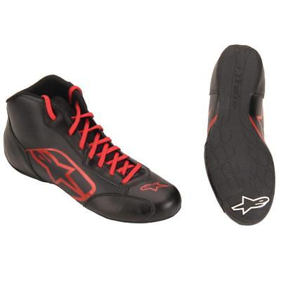 Alpinestar Tech 1-K Start Racing Shoes, Black/Red, Size 10