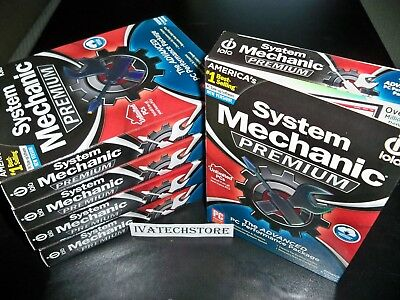 iolo System Mechanic Premium Unlimited PCs Household New Sealed