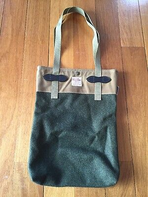 Filson Wool Waxed Cotton Tote Bag