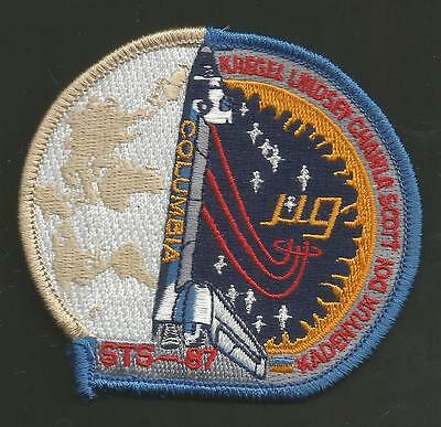 Columbia Sts-87 Space  Patch  3 1/2 Inches
