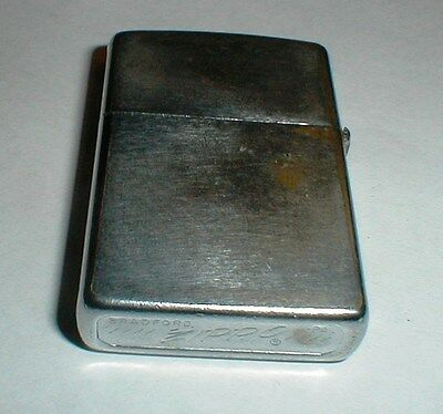 Nice Vintage 1974 Zippo Lighter with Super Clean Insert Still Sparks  //// marks
