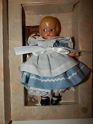 Reproduction Effanbee Patsyette Alice In Wonderland Doll In Storybook Box
