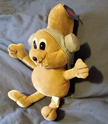 """Rocky"" 17"" Rocky and Bullwinkle plush 2004 Toy Network collector with tags"