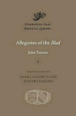 Allegories of the Iliad by John Tzetzes (English) Hardcover Book Free Shipping!