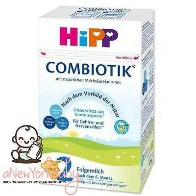 1 Can HiPP Organic Combiotic Follow Milk - Stage 2 French / Dutch Version - 900g