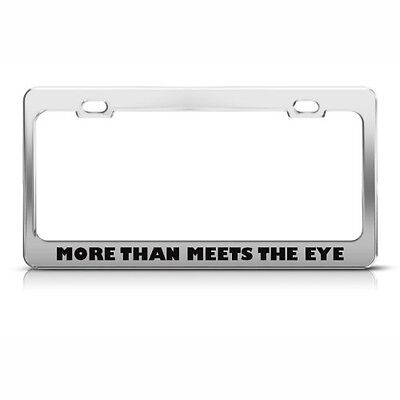 Louder Than Your Mom Last Night License Plate Frame Tag Holder