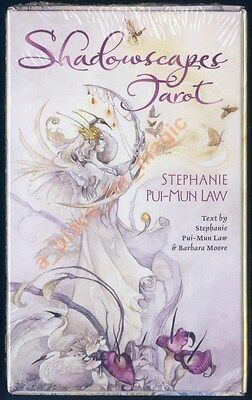 NEW Shadowscapes Tarot Deck Cards Stephanie Pui-Mun Law Barbara Moore
