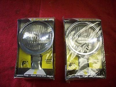 Vintage 1970's NOS Perfection Auto Products Fog / Driving Lamps in Orig Boxes PR
