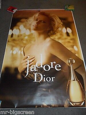 Charlize Theron - Original Double Sided Dior French Bus Stop Poster #3