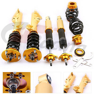 Full Adjustable Coilovers For BMW 3 Series E36 Shock Absorber Coil Spring Strut