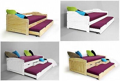 bett 90x190 cm kinderbett funktionsbett kojenbett. Black Bedroom Furniture Sets. Home Design Ideas