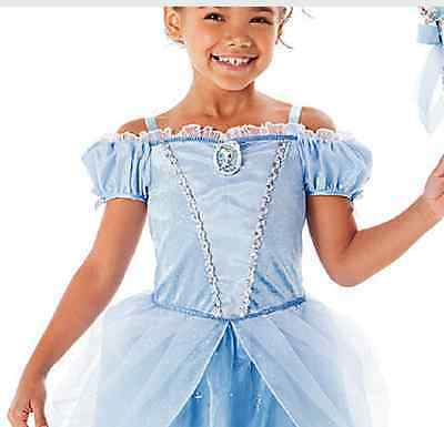 New Cinderella Princess Gown Sandy Girls Kids Dress Fashion Movie Cosplay Party