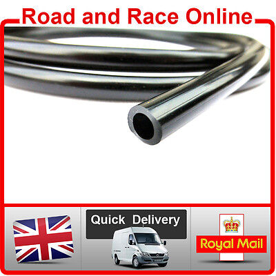 Motorcycle Carb Breather / Overflow /Petrol Pipe 5mm I/D x 8mm O/D 1m Long Black