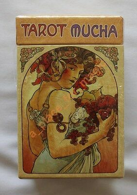 Mucha Tarot Cards Deck Lo Scarabeo NEW DISCOUNTED FOR DENTED BOX