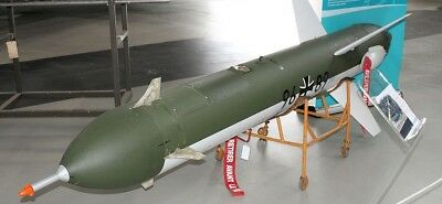 CL-89 Canadair Surveillance Drone Missile Wood Model Regular New Free Shipping