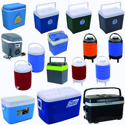 Cool Boxes 24 45 L Litre Electronic Large 12V 240V Wheels Camping Picnic Travel
