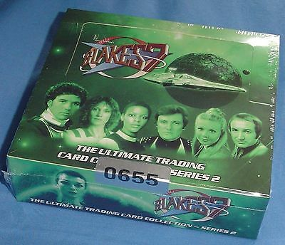 Blake's 7 Series 2 (2014) Sealed Hobby Box of Trading Cards with Autographs etc.