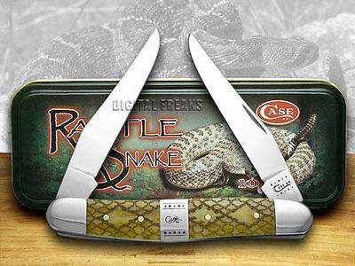 CASE XX Antique Rattlesnake Muskrat 1/500 Pocket Knives