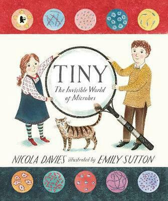 Tiny: The Invisible World of Microbes by Nicola Davies Paperback Book Free Shipp
