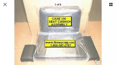 Case 350 350B Dozer Loader 4 piece Seat Cushion set NEW