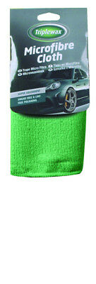 Triplewax Microfibre Cloth CTA002 Car Auto Cleaning Household Bathroom Windows