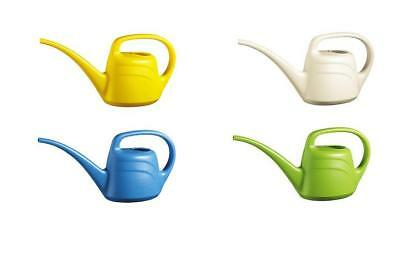 2 Litres Green Wash Eden Watering Can Cream / Mint Green / Light Blue / Yellow