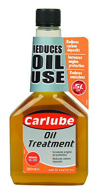 2 x Carlube Oil Treatment Protects Petrol and Diesel Engines (2 x 300ml) QOT300