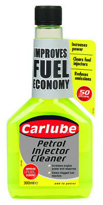 Carlube Petrol Injector Cleaner 300ml QPI300 Helps increase Power & MPG