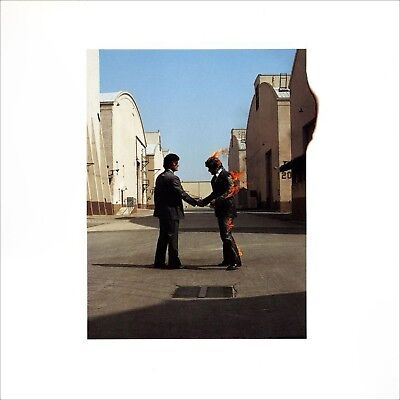 "PINK FLOYD ""Wish You Were Here "".. Retro Album Cover Poster A1 A2 A3 A4 Sizes"