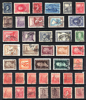 ARGENTINA  STAMP COLLECTION Older Issues USED REF:F795