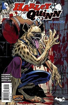 HARLEY QUINN #11 variant MONSTERS of the MONTH 1st print DC NEW 52 AMANDA CONNER