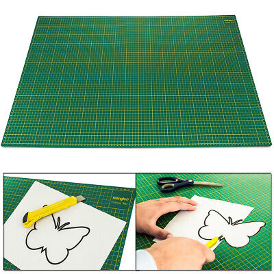 A1 Self Healing Cutting Mat Non Slip Printed Grid Arts Craft Rectangular Durable