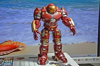 Marvel Avengers 2 Age of Ultron IRON MAN MK 44 HULK BUSTER figure  not for baby