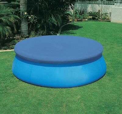 Easy Fast Prompt Set Paddling Swimming Pool Cover With Rope Ties 8ft,10ft,12ft