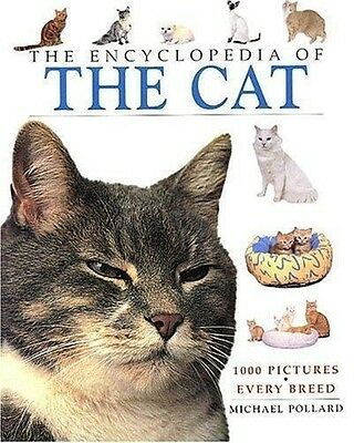 The Encyclopedia Of The Cat By Michael Pollard Book-Nice!!!