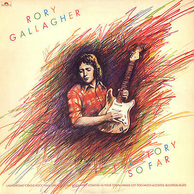 "Rory Gallagher... ""THE STORY SO FAR""..Retro Album Cover Poster Various Sizes"