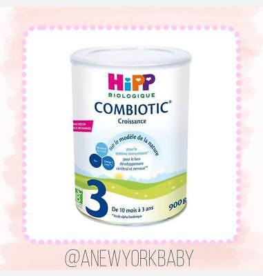 1 Can HiPP Organic Combiotic Growing Milk- Stage 3 French / Dutch Version - 900g