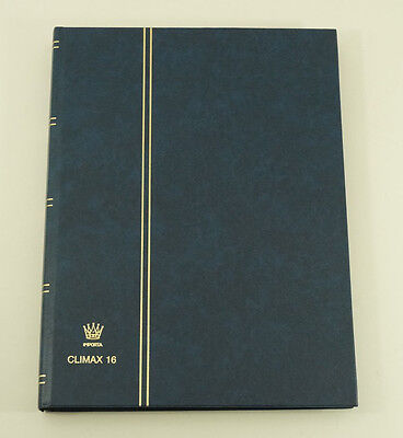 Importa Climax 16 Stockbook - Blue 16 Leaves (32 pages)