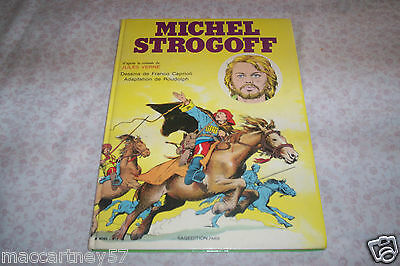 Album Bd Michel Strogoff,ed 1979 J.vernes,sagedition