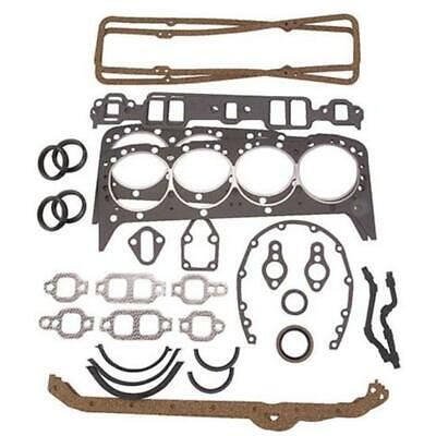 Speedway Small Block Chevy SBC Complete Overhaul Gasket Set, 400 Chevy '70-'81