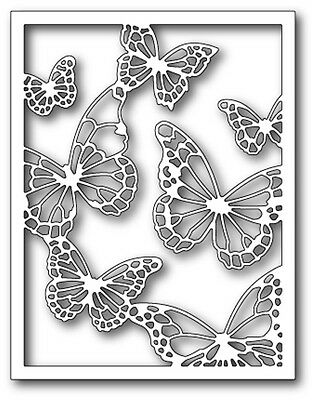 Memory Box Craft Die Floating Butterfly Frame 99138