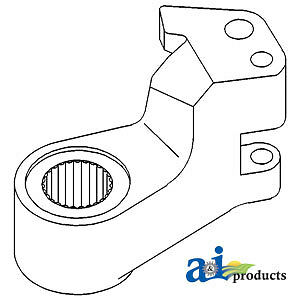 Compatible With John Deere STEERING ARM RH T77482 500C,480C (SN 700148>),410 (SN