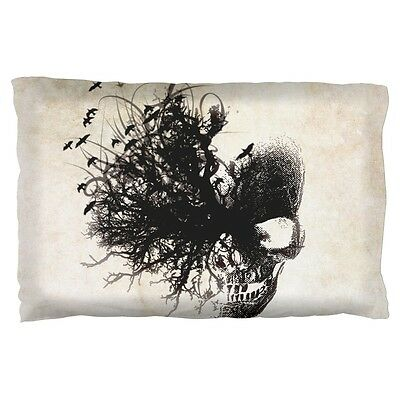Ancient Dreaming Skull Pillow Case