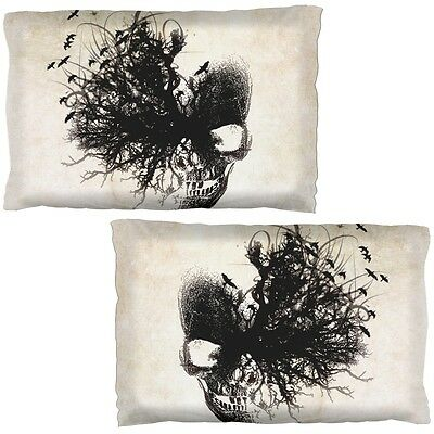 Ancient Dreaming Skull Pillow Case Set