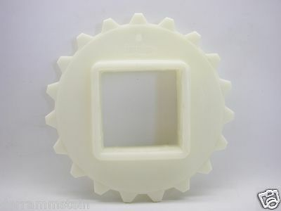 "Intralox S100 Single Row Acetal Sprocket 154mm 6.16P.D. 2.5"" Square Bore b129"