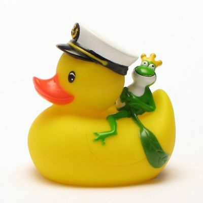 Captain Rubber Duck with Frog Prince