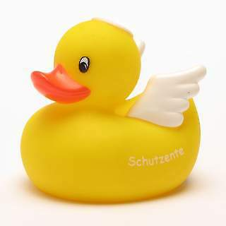 """Angel Rubber Duck """"protection duck"""""""